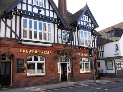 Brewers Arms pub Lewes East Sussex