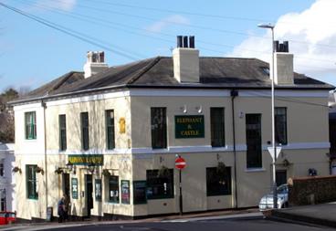 elephant and castle pub Lewes