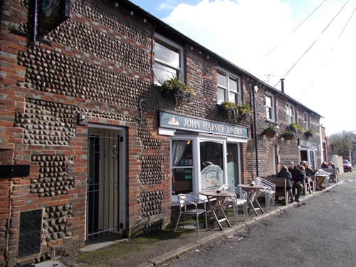 John Harvey Tavern pub Lewes East Sussex