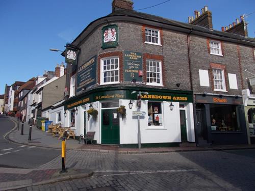 Lansdown Arms pub Lewes East Sussex